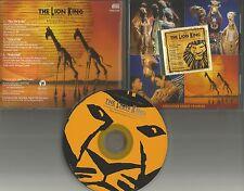 ELTON JOHN Lion King 3 TRK EXCLUSIVE RADIO SAMPLER PROMO CD Single Hans Zimmer 1