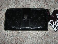 New barbie collector Adult size Black icon Full Size faux patent Wallet