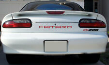 BDTrims Red Rear & Front Letters for Chevrolet Camaro 1999-2002 Plastic Inserts
