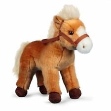 Animigos - Horse With Bridle - World Of Nature Realistic Soft Plush Animal Toy