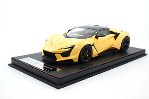 #SA003-68 - FrontiArt / SophiArt Fenyr Supersport (W Motors) - Yellow - 1:18