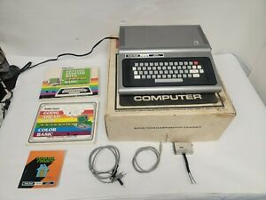 Tandy Radio Shack TRS-80 Color Computer - Superb Condition in Box w/ Extras