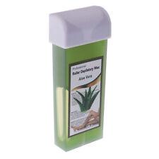 100g Roller Hot Depilatory Wax Cartridge Heater Hair Removal Refillable Aloe