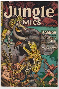 Jungle Comics #163 (1954) 5.5 FN- Fiction House