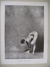 BALLERINA 'HOMMAGE A DEGAS' PHOTO BY GILLES LARRAIN,1984 AUTHENTIC 1995  POSTER