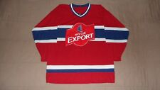 Molson Export Beer Montreal Canadiens Red Men's Size Large Hockey Jersey
