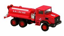 RENAULT 180 TRUCK TANKER 1998 - 1:50 FRENCH FIREFIGHTER SOLIDO DIECAST MODEL CAR