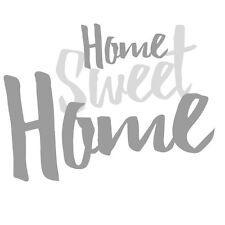 Holzschrift 3D Home Sweet Home 20 cm Holzbuchstaben Schriftzug Buchstaben Schild