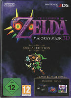 The Legend of Zelda: Majoras Mask - Special Edition, Nintendo 3DS, NEU & OVP