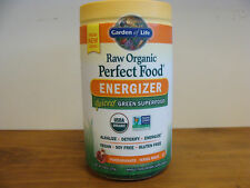 Garden of Life Perfect Food Energizer 9.8 oz Organic Green Super Food Organic