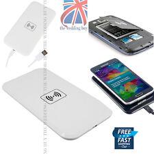 Reino Unido Qi Wireless Blanco Power Pad Cargador Solo Para Samsung Galaxy S3 S4 S3 Note 3 4