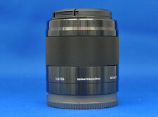 Sony SEL50F18 E 50mm F1.8 OSS Black E-mount Lens Japan Domestic Version New