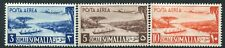 SOMALIA-1950-51 Air Top 3 Values 3s, 5s & 10s Sg 252-4 UNMOUNTED MINT V21039
