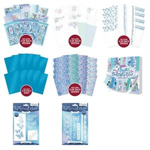 Hunkydory - Butterfly Blue Collection - Toppers, Inserts, Card, Dies - CHOOSE