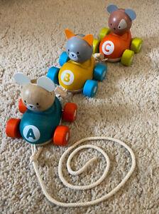 Animal Train - Plan Toys - Wooden Toy Train