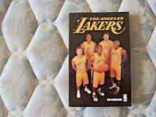 2012-13 LOS ANGELES LAKERS MEDIA GUIDE Yearbook KOBE BRYANT STEVE NASH Program