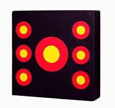 Pro Boss™ - 7 Spot Archery Target 100x100x17cm - Ideal for home practice
