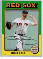 Chris Sale 2019 Topps Archives 5x7 Gold #148 /10 Red Sox
