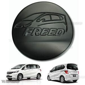 Matte Black Fuel Oil Cap Tank Cover Trim Fits Honda Freed 4D Hatchback 2010 2016