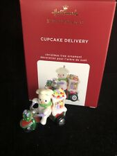 Cupcake Delivery Limited Edition 2020 Hallmark Ornament Free shipping Mib