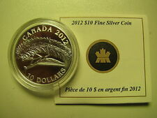2012 Proof $10 Praying Mantis Canada .9999 silver COIN&COA ONLY ten dollars