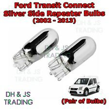 Ford Transit Connect Chrome / Silver Indicator Bulbs Flash Side Tail Pair 02-13
