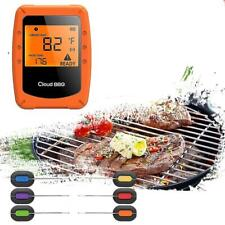 Smart Thermometer Food Meat Phone Wireless Bluetooth WIFI BBQ Temperature New