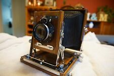 Prinzdorff 5X7 Camera with rotating 4x5, deardorff 5x7 and 8x10 expansion back