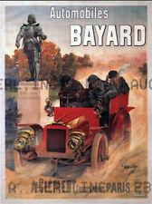 Bayard automobiles 1910s print ca 8 x 10 print prent poster