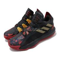 adidas Dame 6 GCA Forbidden City CNY Black Red Gold Men Basketball Shoes FW5445