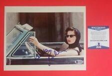 "ISABELLA  ROSSELLINI SIGNED YOUNG SEXY 8""X10"" COLOR PHOTO CERTIFIED WITH BAS COA"