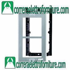 Telaio porta moduli con cornice 2 moduli URMET 1148/62