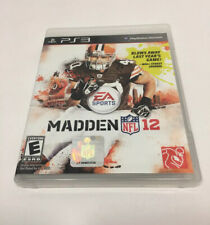 Madden NFL 12 PS3 (Sony Playstation 3)