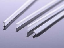 White I Beam Profile 1.5mm by 3mm by 500mm Plastic Strip Model OO/HO Gauge