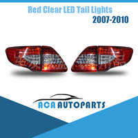 Red Clear LED Tail Light For Toyota Corolla ZRE152 2007-2010 Rear Lamp Taillight