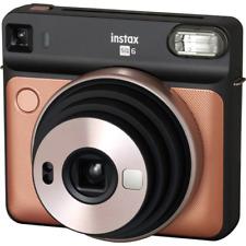 Fujifilm Fuji Instax SQ6 Istantaneo Videocamera Pennello Oro