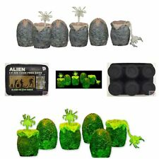 ALIEN EGG ACCESSORY PACK Glow In The Dark XENOMORPH Neca ALIENS FACEHUGGERS 2016
