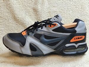 Nike Air Max A/T-5 mens trainers Rare!!! Leather Black/Grey UK 10 EUR 45 US 11