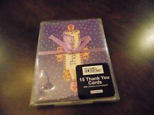 Mary Engelbreit-Thank You Cards 15 Card with Envelopes and Stickers