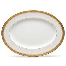 Noritake Odessa Gold 12 Inch Serving Platter