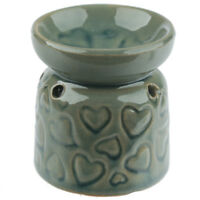 Small Blue Hearts Wax Warmer/Burner & pack of 10 Handpoured Scented Melts