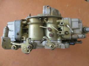 holley 650 cfm spread bore mechanical secondary carby double pumper 6210