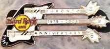 Hard Rock Cafe TORONTO 2008 30th Anniversary STAFF PIN 3N Guitar LE 200 #44219