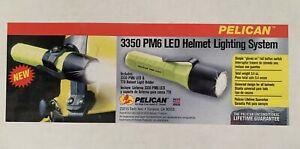 Pelican 3350 PM6 LED Helmet Lighting System