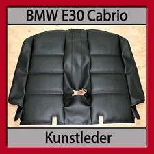 BMW E30 Cabrio Rückbanklehnenbezug Lederausstattung Ledersitze Sitzbezüge