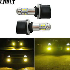 NEW 2x 880 3000K Yellow For CREE 100W High Power LED Fog Light Driving Bulb DRL