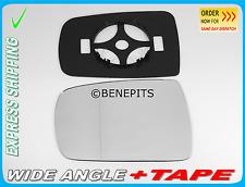 Wing Mirror Glass KIA CARNIVAL 2007-2014 Wide Angle + BP + TAPE Left Side /JK025