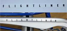 Sears JC Higgins Flightliner bicycle chain guard decal sticker