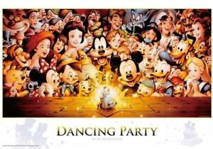Disney Jigsaw Puzzle Mickey Dancing Party 1000 Pieces