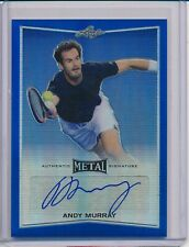 Andy Murray 2016 Leaf Metal Blue Refractor Auto REF 16/25